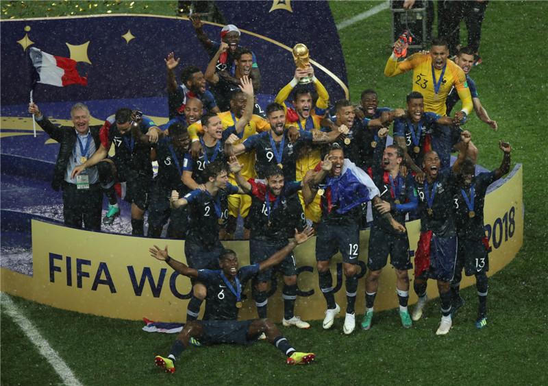 时隔20年 法国再捧杯