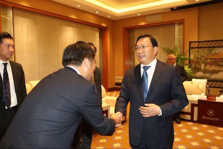 2018济南与住友商事高层对话会举行 王忠林孙述涛参加活动